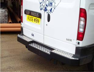 Maxus & LDV Heavy Duty Rear Bumper Towing Step.