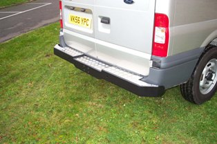 Ford Transit Heavy Duty Rear Bumper Towing Step.