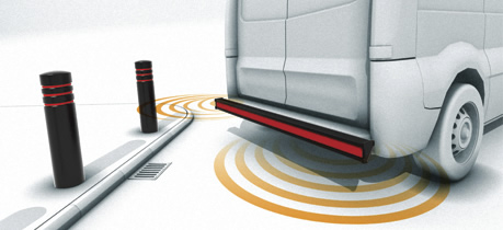 Rear Bumper Steps May Be Fitted With Reverse Sensors.