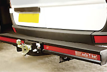 Safe T Bar Heavy Duty Rear Bumper Towing Steps.