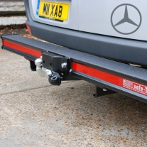 Mercedes Sprinter & Volkswagon Crafter  Rear Safe T Bar Heavy Duty Towing Bumper Step.