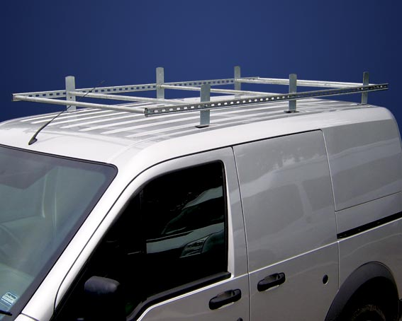 Ford Transit Connect Low Roof Galvanised Roof Rack