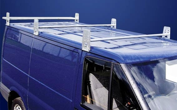 Ford Transit Short Wheel Base Low Roof 5 Bar Style Roof Rack