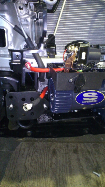 Toyota Hilux Superwinch Fitted.