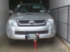 Toyota Hilux. Winch Fitted.